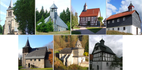Evangelische Kirchengemeinden  Frankenau – Allendorf – Louisendorf und Oberburg-Itter